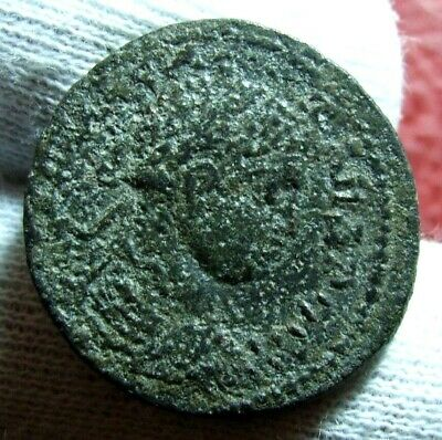Severus Alexander City goddess seated  Æ25 Roman coin to identify