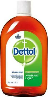 Dettol Antiseptic Disinfectant liquid for First aid, Surface Cleaning and Person