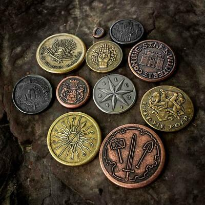 """GAME OF THRONES """"PRE-CONQUEST COIN SET"""" 11 coins Shire Post Mint NEW"""