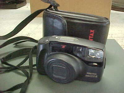 Pentax Zoom 105-R 35mm  Film Camera with Case