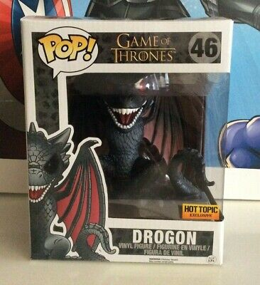 "Funko Pop! Game of Thrones Drogon 6"" Inch Hot Topic Exclusive #46"