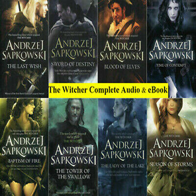 The Witcher Series Complete Collection 8 (E-B0K&AUDI0B00K) by Andrzej Sapkowski