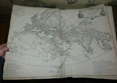 1775 A COMPLETE BODY OF ANCIENT GEOGRAPHY by DANVILLE WITH 13 HUGE MAPS ASIA