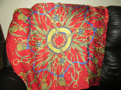 Stunning 100% seta silk rolled edges large scarf. Made in Italy. Magnificent