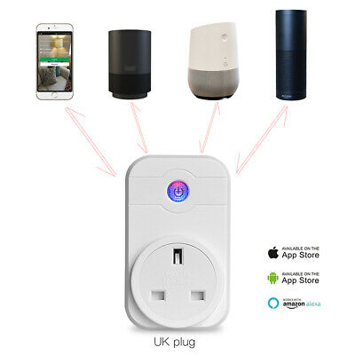 Smart Power Socket Wifi Wireless Mini Switch Remote Control Timer Outlet 4 Types