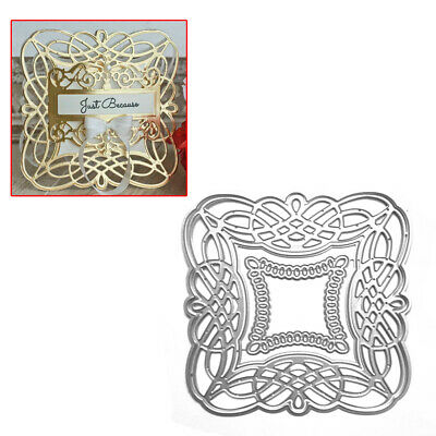 Hollow Frame Metal Cutting Dies Stencils Scrapbooking Album Embossing DIY Hot P