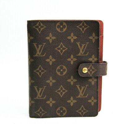Louis Vuitton Monogram Planner Cover Monogram Agenda MM R20004 BF510904