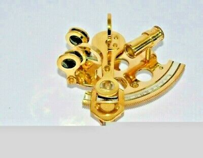 ''3'' Working Marine Collectible Nautical Brass German Maritime Sextant free shp