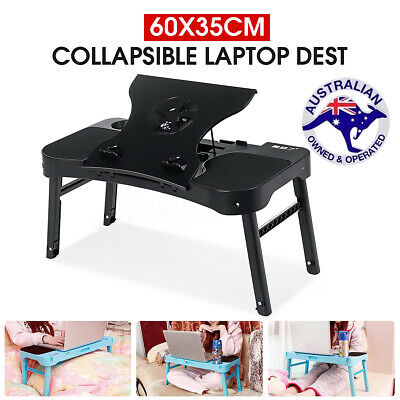 Laptop Stand Desk Lap Bed Table Sofa Computer Portable Foldable Adjustable