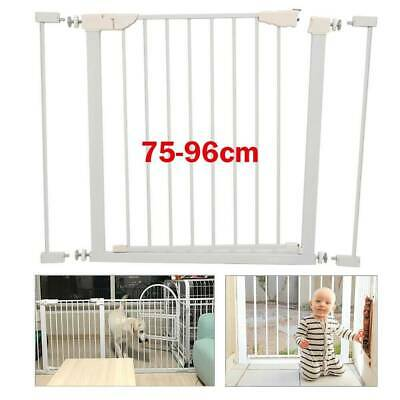 NEW Pressure Fit Stair Gate Safety 1St Secure Tech Child Baby Pet Safety 75-96cm
