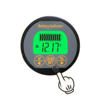 80V 100A Battery Monitor Caravans RV Motorhome Iron Lead Acid 999AH Gauge Parts