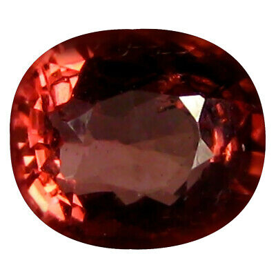 1.01 CT AAA + Magnificent Forme Ovale (6 X 5 mm) Rosé Orange Malaya Grenade