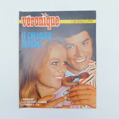 "Magazine ""Véronique"" n°38 de 1971 ♦ Jean-Claude Brialy ♦ Nana Mouskouri ♦ Mode"