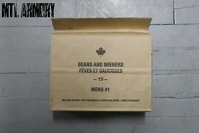 #01 Canadian Forces  IMP MRE Rations Canada Army