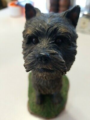 2003 Swibco Cairn Terrier Bobblehead Statue