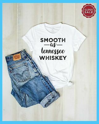 Smooth As Tennessee Whiskey T Shirt - Smooth T Shirt- Tennessee Shirt- Whiskey