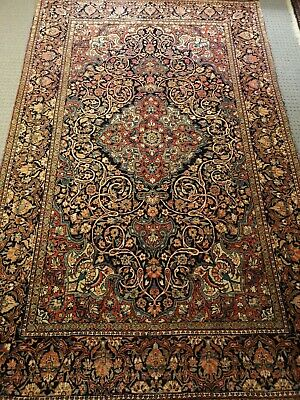 Rare Qazvin rug early 1900's