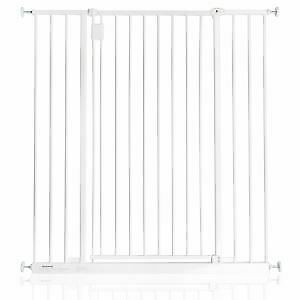 Safetots Extra Tall Wall Mounted Screw Fitted Baby Safety Stair Gate White