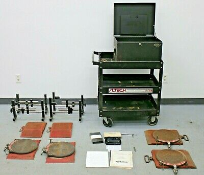 AlTech Industries A/T-4 Four Wheel Alignment System w/ Snap On Turntables