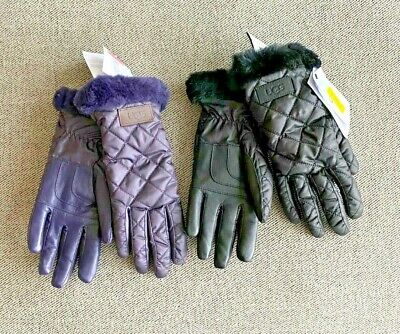 Nwt Ugg Australia Quilted Performance Gloves Sz S/M Choose Color