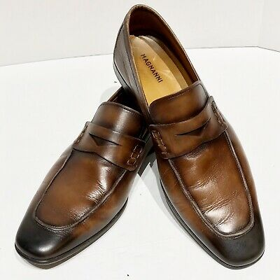 Magnanni Jackson Cuero and Midbrown Mens Lace-up Shoes