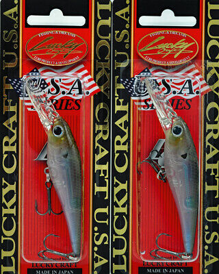 LUCKY CRAFT Bevy Shad 50SP 195Yamame Silver