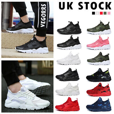 Mens Womens Couples Gym Sports Shoes Running Trainers Lace Up Casual Sneakers UK