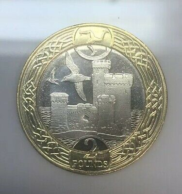 2017 £2 Coin ISLE OF MAN - Tower of Refuge two pound