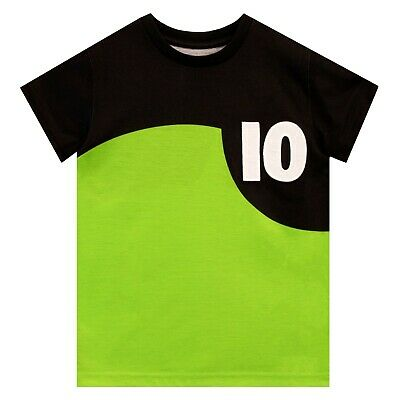 BNWT Original Ben 10   T 2 pack  I navy and 1 white BARGAIN SALE £5.99 shirts