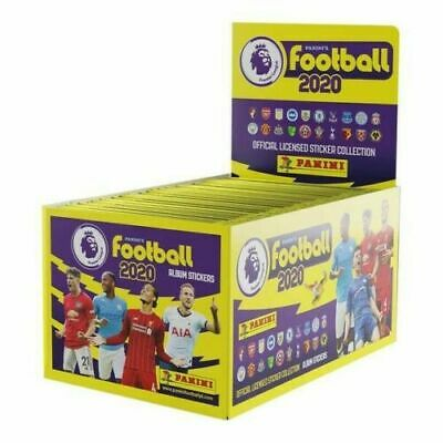 Panini Football 2020 Premier League Stickers | 100 Packets