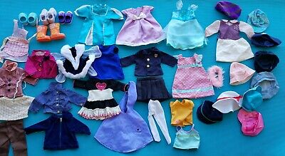 "18"" Battat Girl doll Clothes lot Dress Hat Tops Skirts shoes boots"