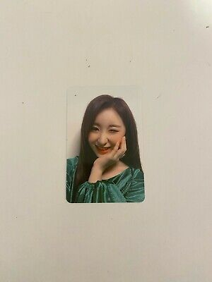 IZONE BLOOMIZ I AM [CHAEYEON] official photocard