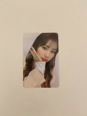 IZONE BLOOMIZ I WILL [HYEWON] official AR photocard