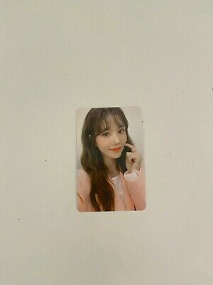 IZONE BLOOMIZ I WILL [EUNBI] official photocard