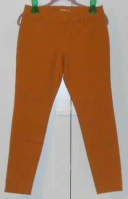 Women's Old Navy Mustard Mid-Rise Long Pixie Pants - Size 6 Petite