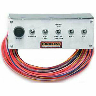 Painless Performance Products 50412 Pro Street Non-Fused Toggle Panel