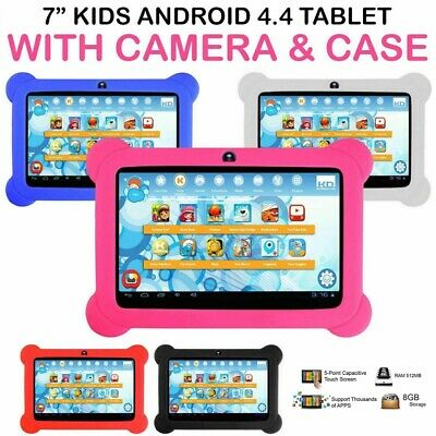 7″ INCH 8GB KIDS ANDROID TABLET PC QUAD CORE WIFI Camera CHILD CHILDREN GIFT UK