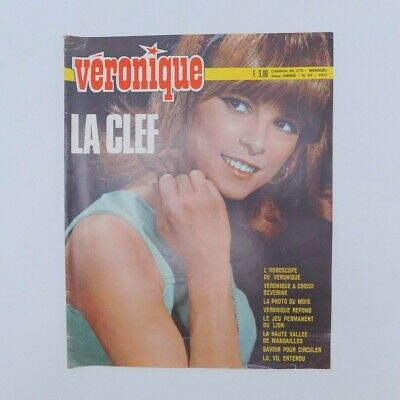 "Magazine ""Véronique"" n°43 de 1971 ♦ Séverine ♦ Guy Mardel ♦ Jacques Dessange"
