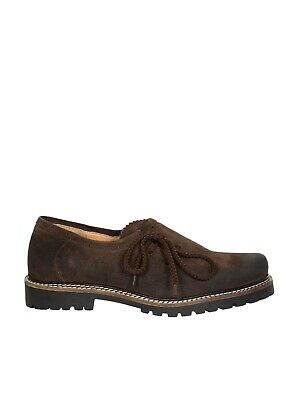 Almsach Brogue Michi Velour Espresso