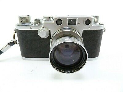 Leica IIIf Camera Body with a Leica Summitar 50MM F2 lens in Excellent Condition