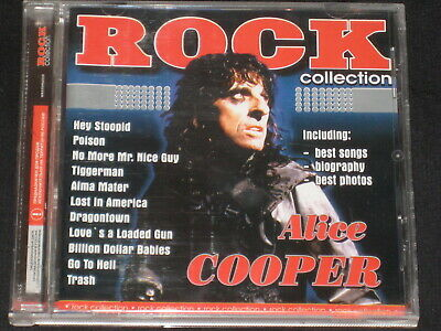 Alice Cooper Rock Collection Very Rare Version Cd 17 Tracks Edition New Sealed