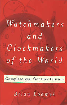 Watchmakers & Clockmakers of the World - 9780719803307