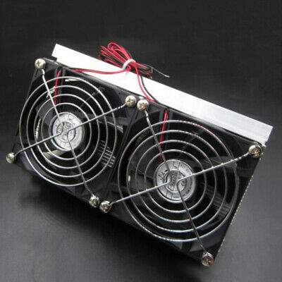 12V 120 Watts Hermoelectric Refrigeration Cooling System Double Fan Equipment