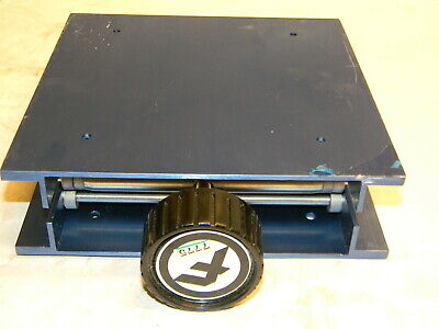 "Fisher 8"" x 8"" Lab Jack, Max Height is 11"""" (14-673-52)"