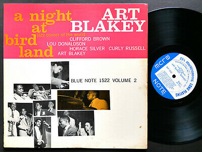 ART BLAKEY A Night At Birdland Vol.2 LP BLUE NOTE 1522 EAR MONO Clifford Brown