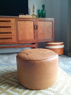 Vintage - Mid Century Sherborne Footstool Made In England
