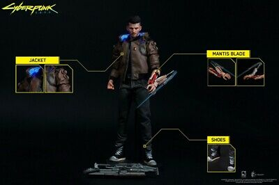 """Deposit PureArts 1/6th PA001CP Cyberpunk 2077 V Guy 12"""" Male Action Figure Toys"""
