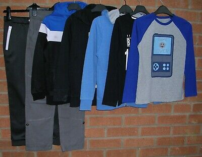 NEXT GAP M&S GEORGE etc Boys Bundle Jumpers Tops Jeans Joggers Age 8-9 134cm