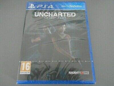 Uncharted The Lost Legacy  PS4 PlayStation 4  NEW Sealed
