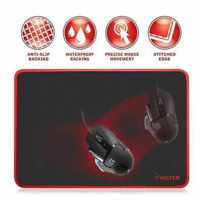 Game Gaming Mouse Pad Mat Mousepad with Anti-Slip Rubber Base Waterproof Coating